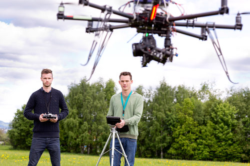 A new profession: Drone pilot There are new needs arising and new professions